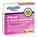 Equate -  Allergy Sinus Headache Pain Reliever 0681131187121