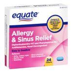 Equate -  Allergy & Sinus Medication 0681131187169