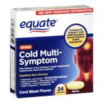Equate -  Cold Head Congestion Severe Caplets Pain Reliever 0681131187183