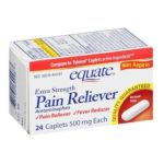 Equate -  Pain Reliever Extra Strength Fever Reducer Acetaminophen Compare To Tylenol, 24 caplets,1 count 0681131699983