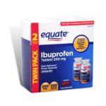 Equate -  Ibuprofen Pain Reliever Fever Reducer 200 Coated Caplets In 200 mg lb lb, 1.9 inxin1.9 inxin6.34 in,100 count 0681131700214