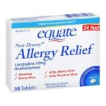 Equate -  Allergy Relief 10 mg 0681131739283