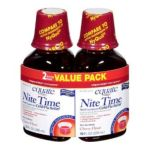 Equate -  Nite Time Multi-symptom Cold Flu Relief Cherry Flavor Compare To Nyquil 0681131928113