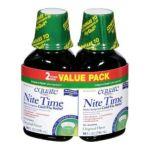 Equate -  Nite Time Multi-symptom Cold Flu Relief Original Flavor Compare To Nyquil 0681131928137