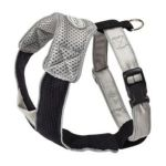 Doggles -  Dog Wear Mesh Harness In Gray And Black Size-see Chart Below Xxs 0686644802059