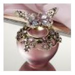 Welforth -  Bottle With Butterfly Stopper Decorative Perfume Bottle Model No. Pb 670 0689851306709