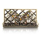 Welforth -  Butterfly Business Card Holder Model No. H-222 0689851402227