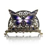 Welforth -  Butterfly Business Card Holder Model No. H-270 0689851402708