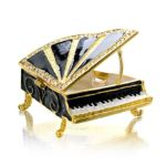 Welforth -  Piano Jewelry Box J-551 0689851705519