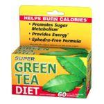 Good 'n Natural -  Super Green Tea Diet Helps Burn Calories 60 capsule 0698138132566