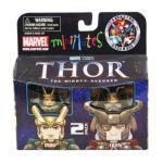Diamond Select Toys -  Minimates Series 39 Loki & Odin 0699788721896