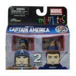Diamond Select Toys -  Marvel Minimates Series 40 Frontline Captain America & Bucky 0699788721926