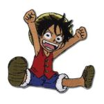 GE Animation -  Patch One Piece Luffy 0699858943272