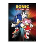 GE Animation -  Wall Scroll Sonic X Sonic And Amy Wall Scroll 0699858952021