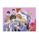 GE Animation -  Wall Scroll Ouran High School Host Club Sweet Servings 0699858952335