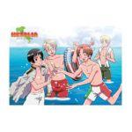 GE Animation -  Hetalia Swim Suits Wall Scroll 0699858958436