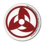 GE Animation -  Naruto Shippuden Kakashi Sharingan Button 0699858966578