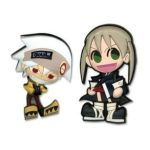 GE Animation -  Pins Soul Eater Soul And Maka 0699858967056