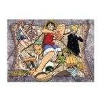 GE Animation -  One Piece Map Wall Scroll 0699858999286