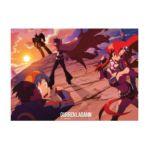 GE Animation -  Wall Scroll Gurren Lagann Sunset Scenery Wall Scroll 0699858999941