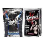 Dymatize -  Dymatize Iso-100 Vanilla + Xpand Xtreme Pre Workout Sample 2 lb 0705016100095