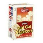 Gefen foods -  Crackers Gal Gal Plain 0710069008052