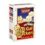 Gefen foods -  Crackers Gal Gal Everything 0710069008106