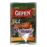 Gefen foods -  Hearts Of Palm Whole 0710069013308