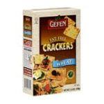 Gefen foods -  Crackers Fat Free Wheat 0710069086012