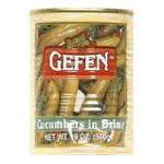 Gefen foods -  Pickles Cucumbers In Brine 0710069139107