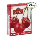 Gefen foods -  Cherry Jell Dessert 0710069302204