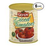 Gefen foods -  Diced Tomatoes 0710069703674