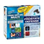 Applied nutrition -  Men's Liquid Soft-gel Multi And Prostate Defense Value Pack 0710363575113