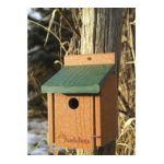 Woodlink brands -  Go Green Wren House Green 8 in 0715038308423
