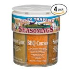 Dean Jacob's -  6 Tasty Traveler Seasonings Regular Jars 0715483067227
