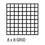 Alvin -  Cp10202222 Grid Vellum 18x24 8x8 10sht 0720362006044