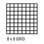 Alvin -  Cp10202228 Grid Vellum 24x36 8x8 10sht 0720362007409