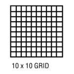 Alvin -  Cp10203228 Grid Vellum 24x36 10x10 10sht 0720362007416