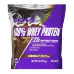 EAS -  100% Whey Protein Resealable Bag Chocolate 5 lb 0728028036305