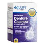 Equate -  Anti-bacterial Denture Cleanser 0730637042400