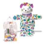 Alex Toys - Color And Cuddle Washable Bear 0731346006929  / UPC 731346006929