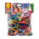 Alex Toys - Loop N Loom Refill 108 Loops 0731346018427  / UPC 731346018427