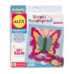 Alex Toys - Simply Needlepoint Butterfly 0731346039514  / UPC 731346039514