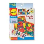 Alex Toys - Paint Number Favorite Pets 0731346048509  / UPC 731346048509