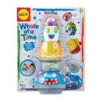 Alex Toys - Rub A Dub Whale Of A Time Bath Toy 0731346085603  / UPC 731346085603