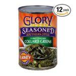 Glory foods -  Seasoned Collard Greens With Smoked Turkey 0736393103232