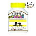 21st Century -  Vitamin B-6 100 mg, 110 tablet,1 count 0740985211960