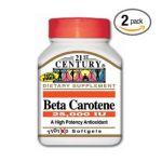 21st Century -   None Beta Carotene 110 softgels 0740985212219 UPC 74098521221