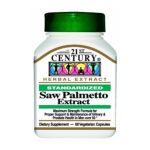21st Century -   None Saw Palmetto Extract 60 capsule 0740985212288 UPC 74098521228