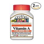21st Century -  Vitamin A 110 softgels 0740985214640